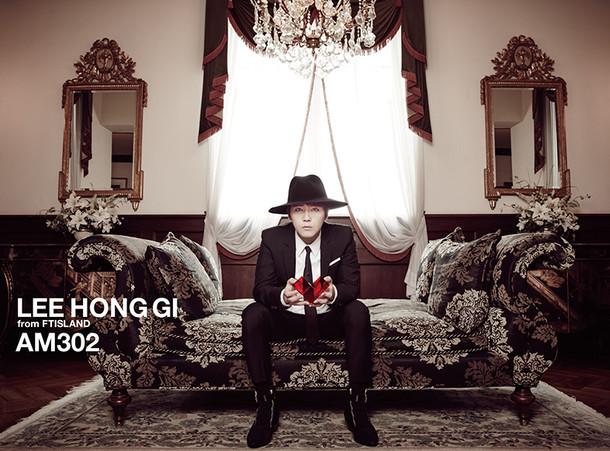 イ・ホンギ(from FTISLAND)「AM302」初回限定盤ジャケット