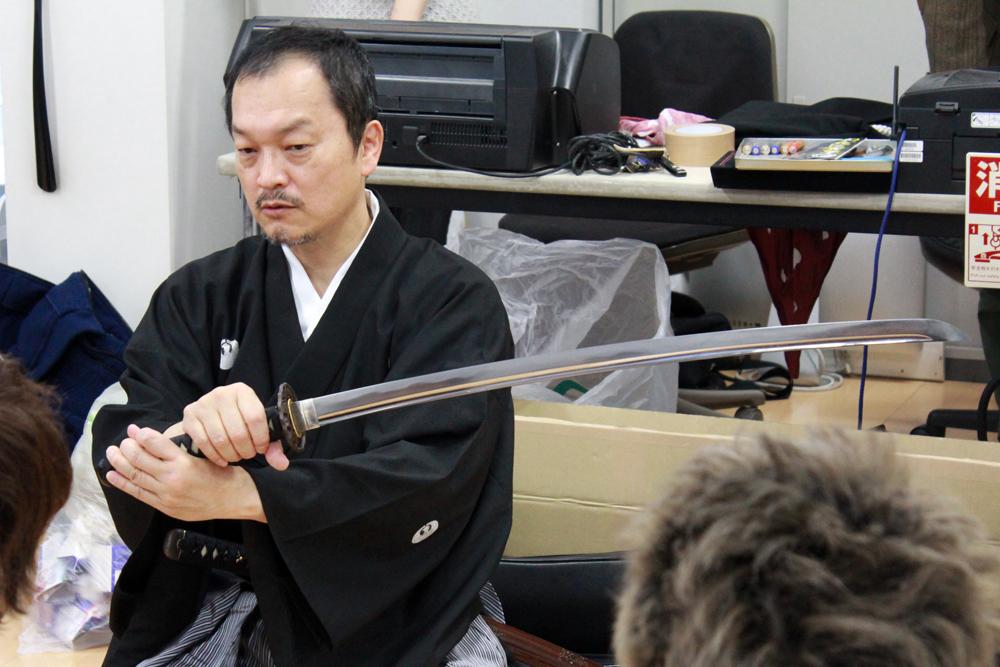 無外流居合 鵬玉会会長、武田鵬玉氏