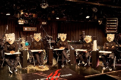 "MAN WITH A MISSION 未発表曲「Between friction and fiction」も披露、""原点""で開催したスペシャルライブ&トークをレポート"