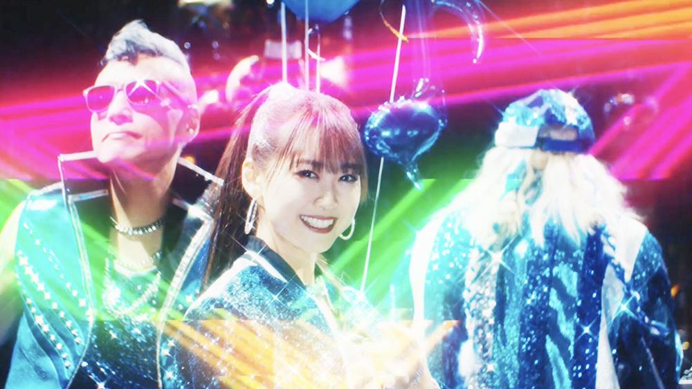 芹澤 優 with DJ KOO & MOTSU / EVERYBODY! EVERYBODY! MVより