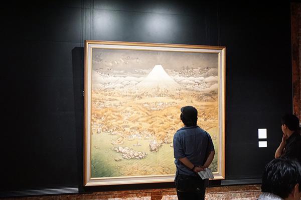 《山海図絵(伊豆の追憶)》(大正14年、木下美術館蔵)