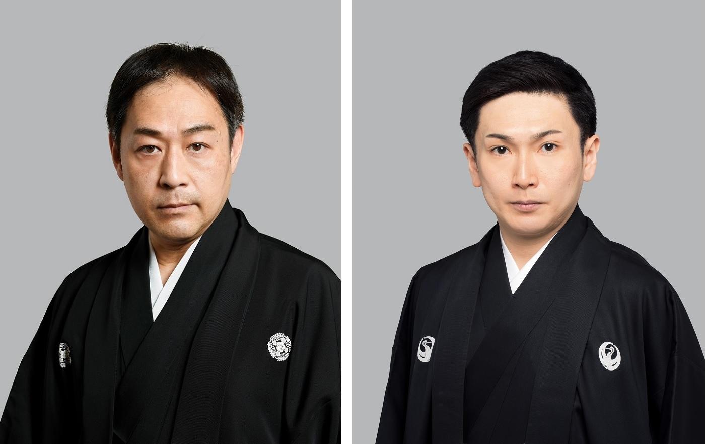 (左から)中村松江、坂東亀蔵