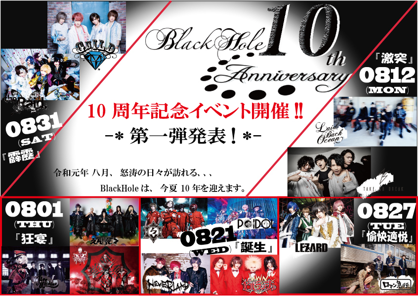 BlackHole 10th Anniversary