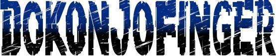 「DOKONJOFINGER」ロゴ (C)2012,2019 SANRIO CO.,LTD. SHOWBYROCK!!製作委員会M