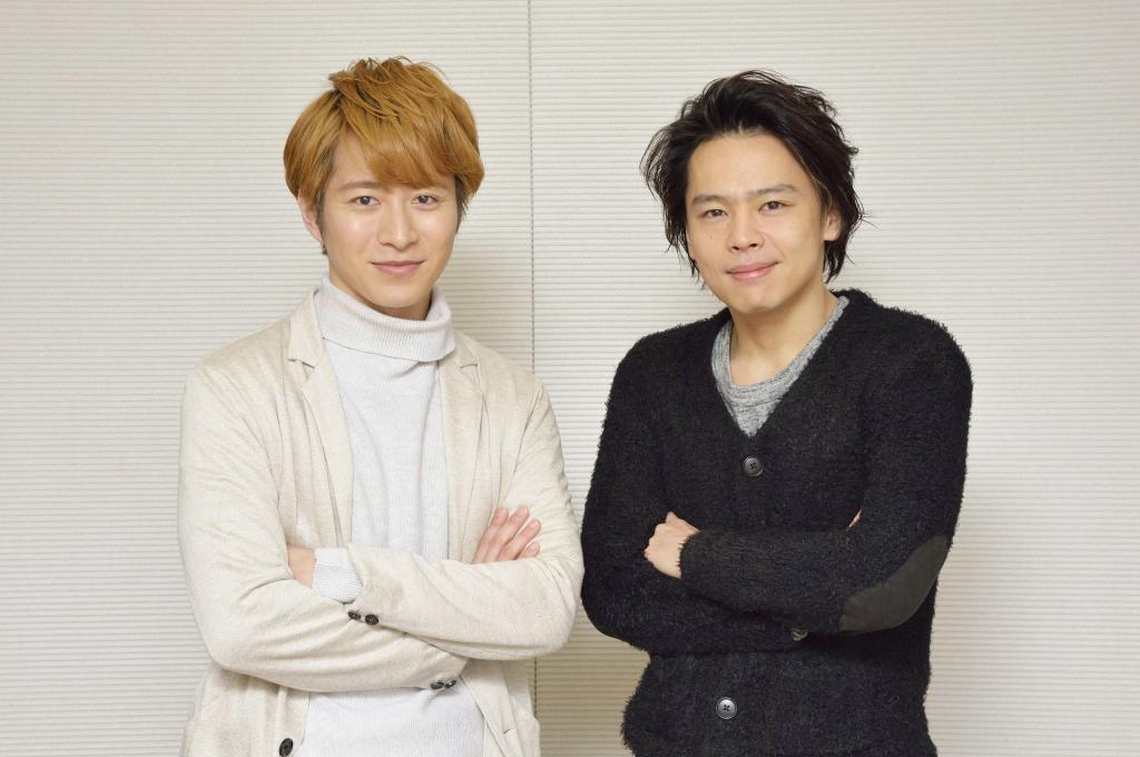 (左から)村井良大、中川晃教