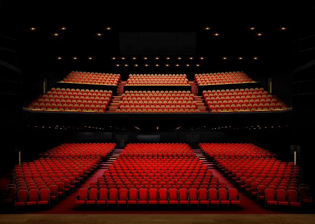 名古屋四季劇場客席 客席正面パース