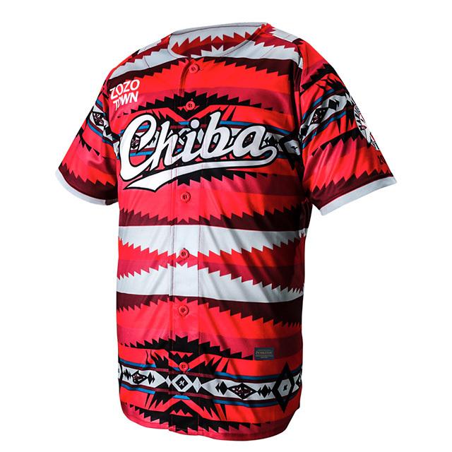 来場者にプレゼントされるCHIBAオリジナルユニフォーム(※選手が着用するCHIBAユニフォームと、来場者プレゼントのデザインは異なる)