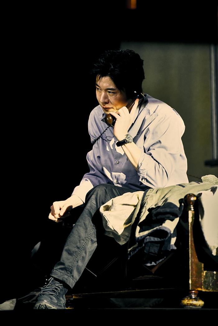 世田谷パブリックシアター×パソナグループ『CHIMERICA チャイメリカ』 田中圭 撮影:細野 晋司