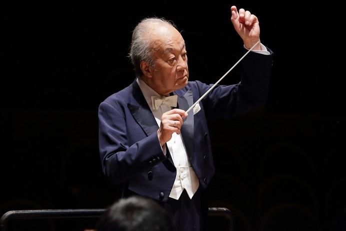 4月に大阪交響楽団ミュージック・アドバイザーに就任した外山雄三 (C)飯島隆