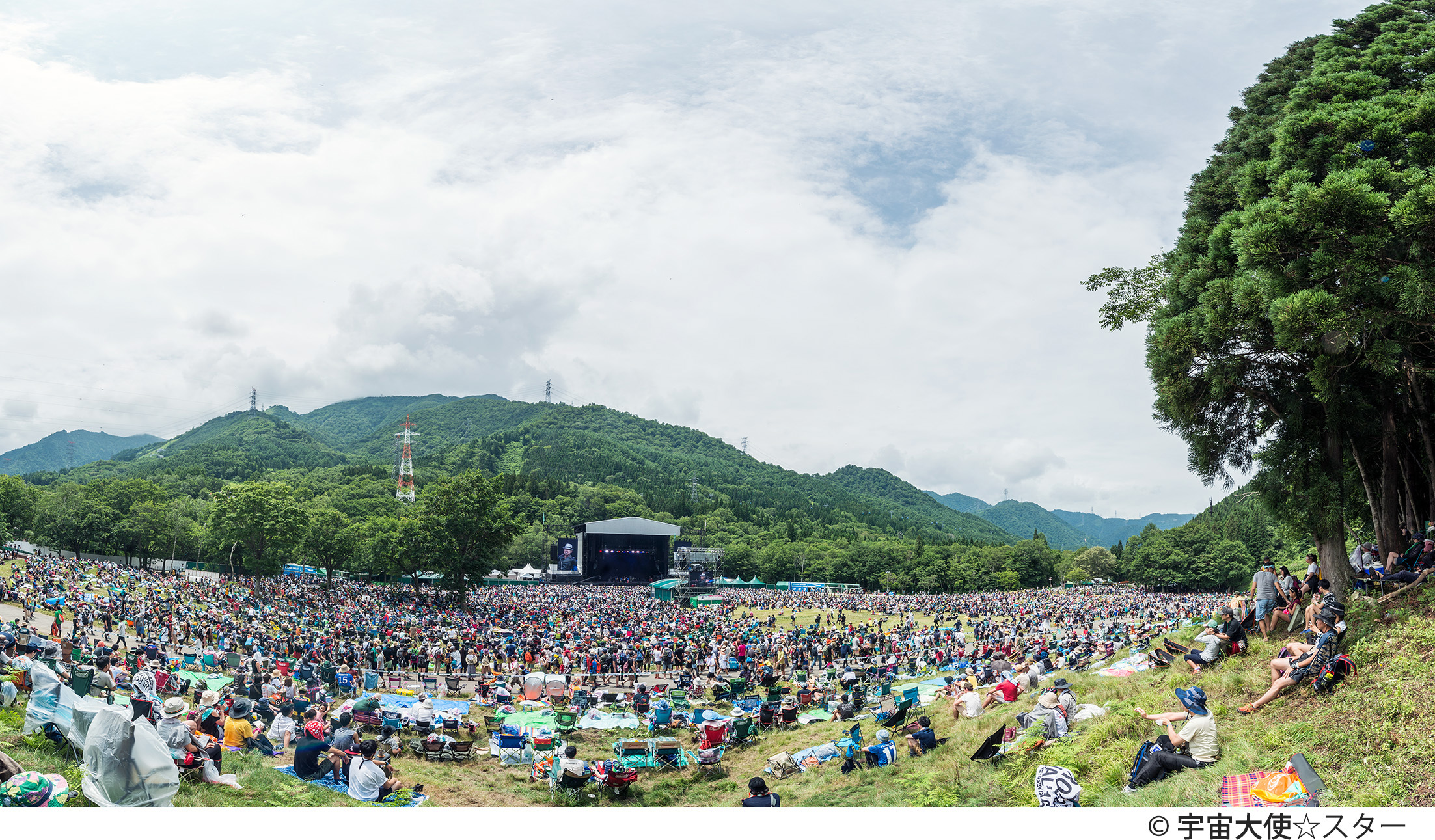 『FUJI ROCK FESTIVAL '17』GREEN STAGE 撮影=宇宙大使☆スター