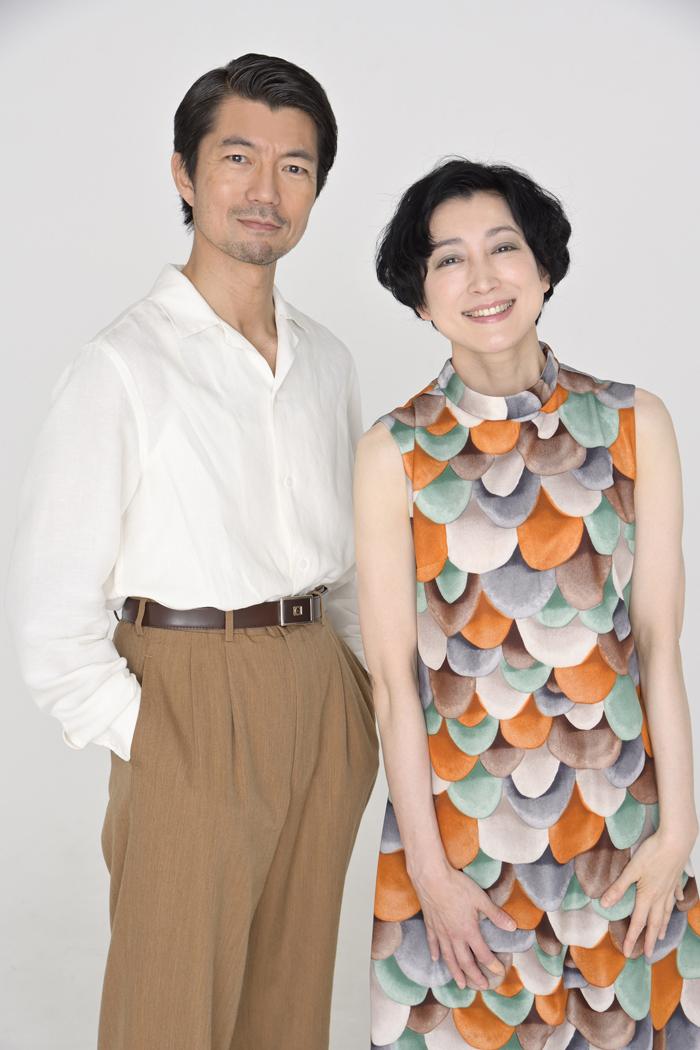 (左から)仲村トオル、緒川たまき