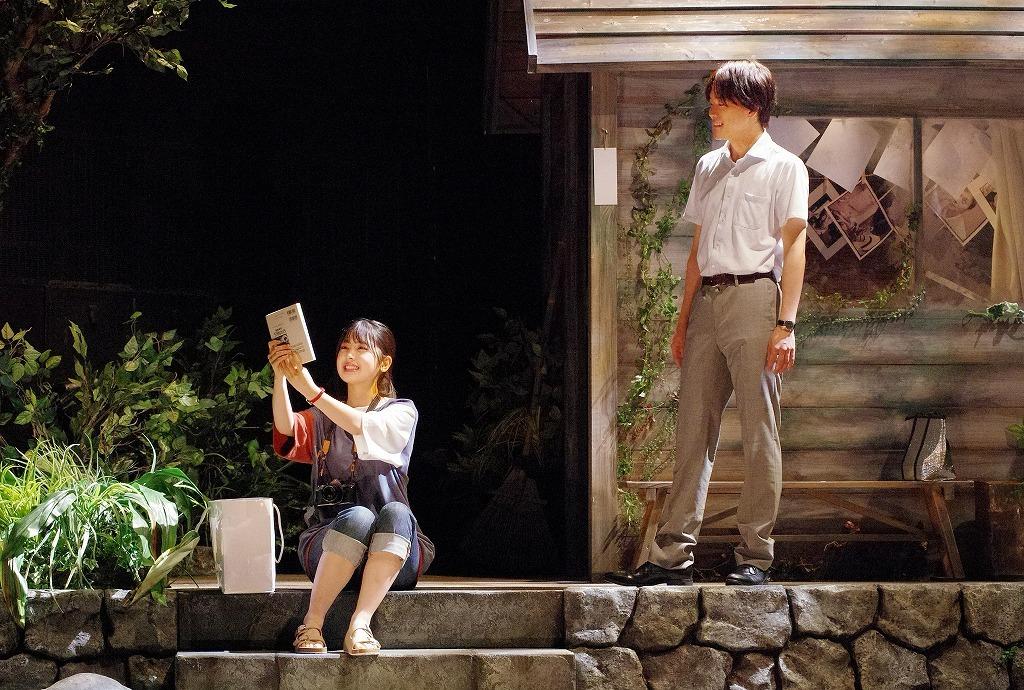 (右から)林翔太、筒井あやめ  撮影:御堂義乘