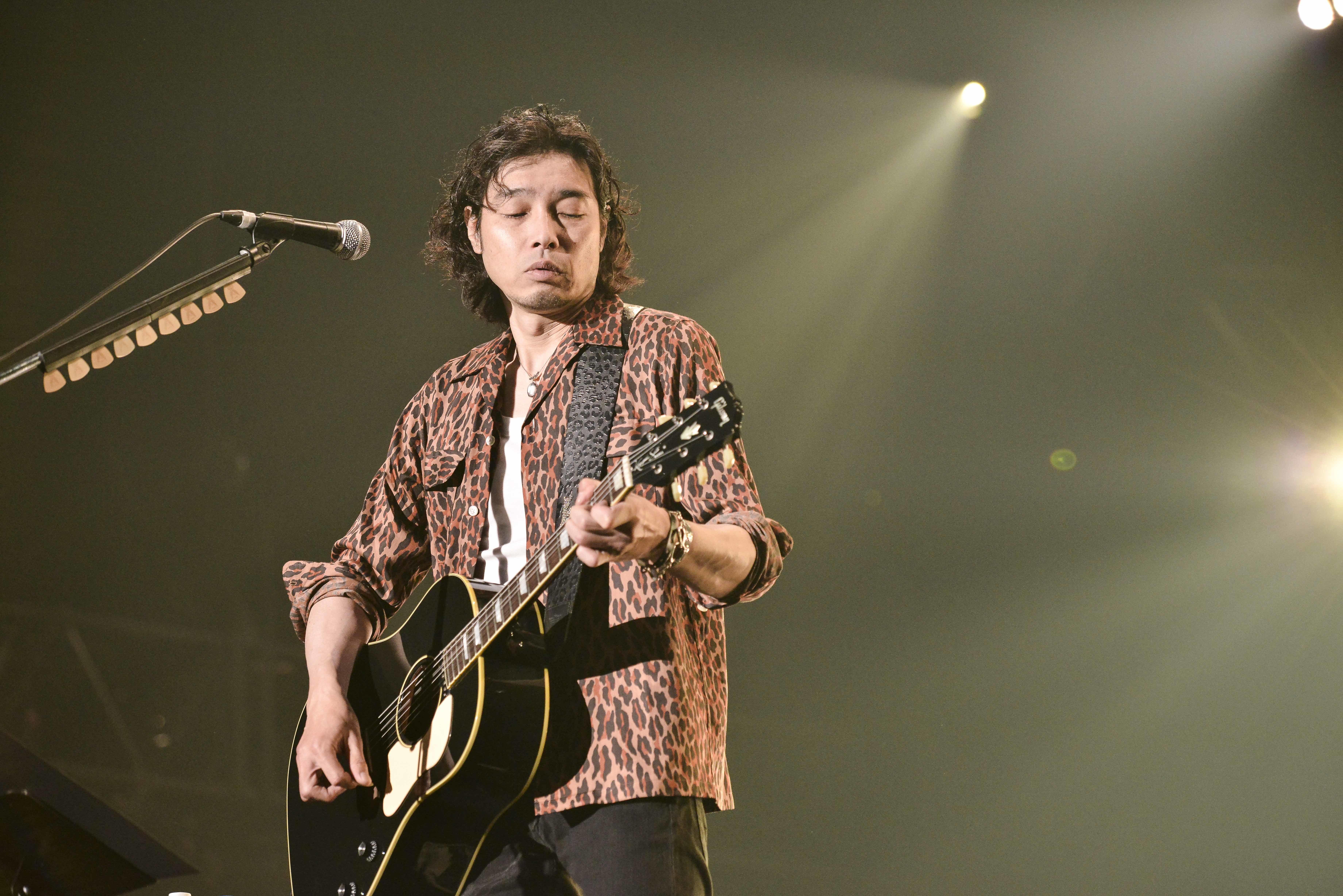 斉藤和義 撮影=Rui Hashimoto(SOUND SHOOTER)