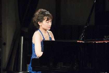 ピアニスト福原彰美がカフェライブ~15年ぶりのCDに込められた、今この時の「ブラームス」