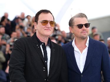 ディカプリオは3年半ぶり、Q・タランティーノ監督は6年半ぶりの来日が決定 『ワンス・アポン・ア・タイム・イン・ハリウッド』PRで