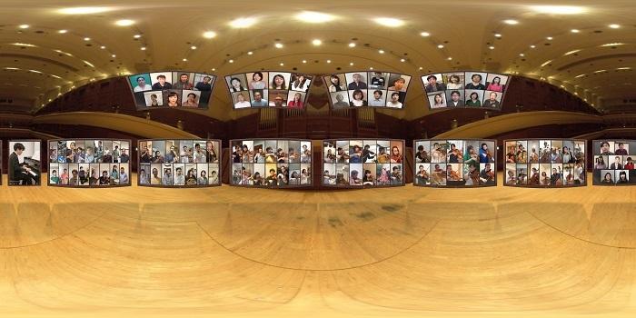 「音のVR」360度VR映像の全体像