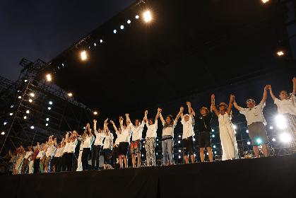 ゴスペラーズ、藤井フミヤ、KAN、山崎まさよし、KICK THE CAN CREWらがボーダーレスな競演『葉加瀬太郎 サマーフェス'18』が開幕