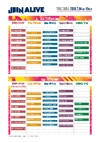 『JOIN ALIVE』、最終タイムテーブルが発表に 会員限定のバックステージツアーも