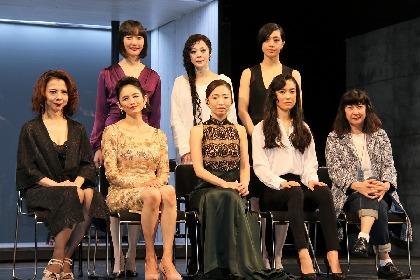 松雪泰子らが早逝の女性小説家の心の闇を描き出す舞台『この熱き私の激情』
