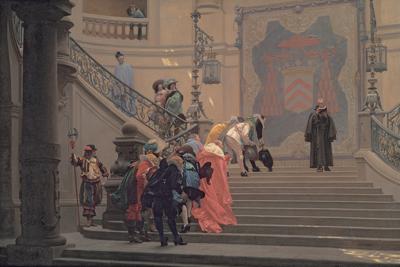 ジャン=レオン・ジェローム《灰色の枢機卿》1873年  Museum of Fine Arts, Boston, Bequest of Susan Cornelia Warren