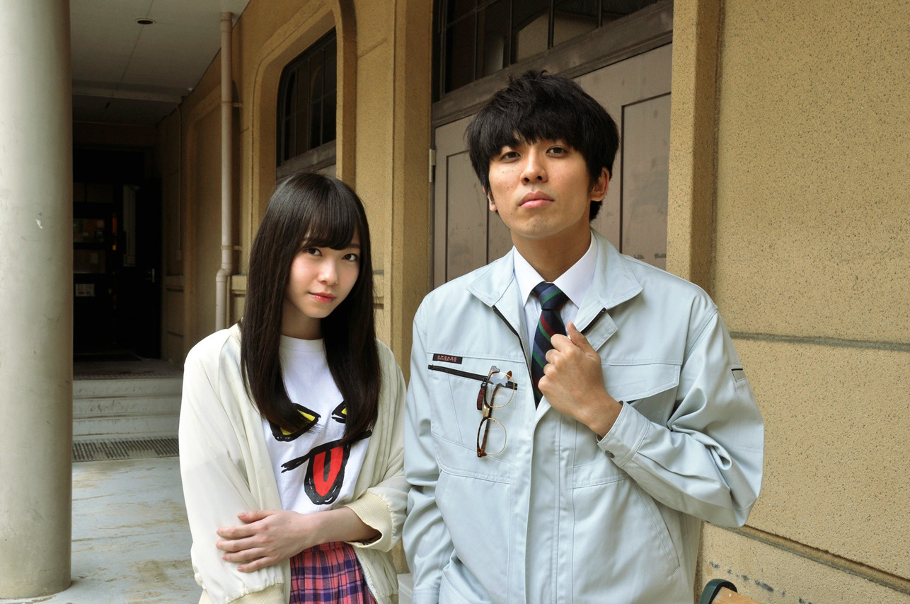 左:石塚朱莉(NMB48) 右:山崎彬(悪い芝居)