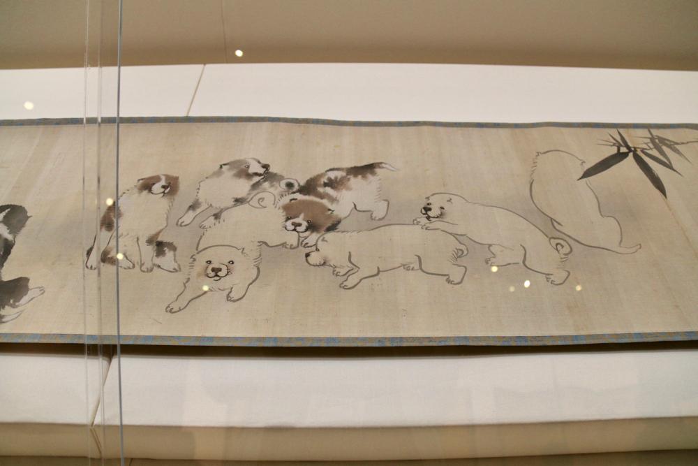 花鳥遊魚図巻 長沢芦雪筆 江戸時代・18世紀 文化庁蔵