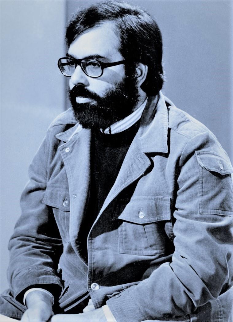 映画監督フランシス・フォード・コッポラ(1976年撮影)