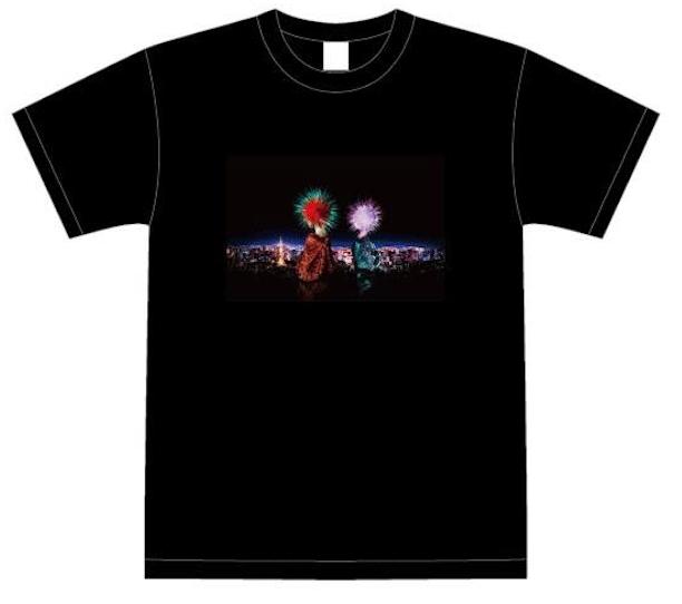 東京花火大祭公式オリジナルTシャツ 3,000円