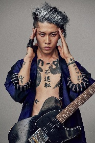 MIYAVIが舞台『TOKYO TRIBE』に楽曲提供、日高光啓a.k.a SKY-HIとのセッション曲「Gemstone」が劇中歌に