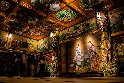 『百段階段展 〜荘厳なる日本美術の空間へ〜』レポート 目黒駅から3分、エレベーターの先の別世界
