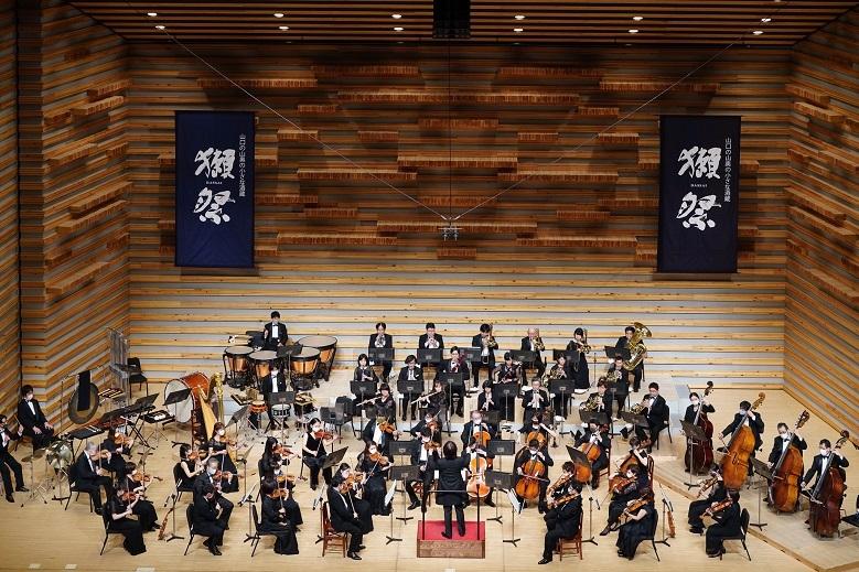 「交響曲 獺祭〜磨migaki〜 五感で味わうコンサート」(21.2.豊中市立文化芸術センター)  (c)Masaharu Eguchi