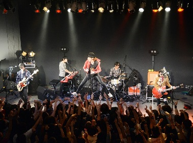 THE BOHEMIANS、the pillowsを迎えて地元・山形で凱旋ライブ