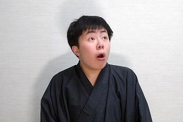 駿河亭悪團治(明治大学落語研究会)