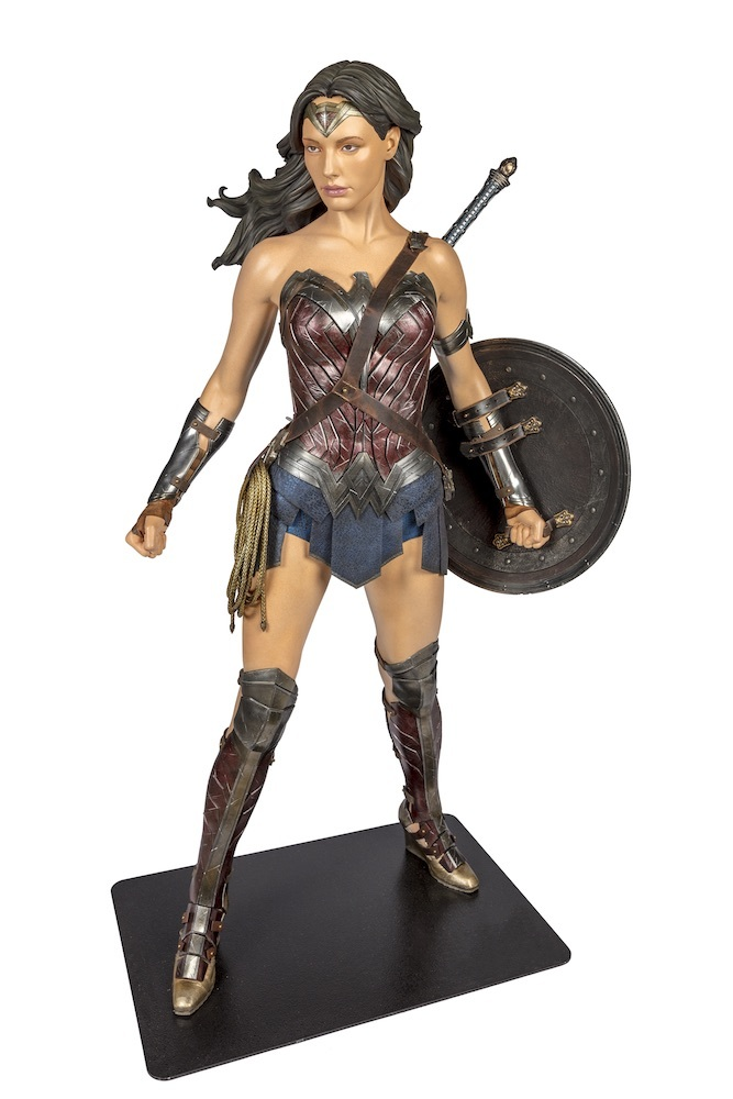BatmanVSuperman Dawn of Justice 2016 Wonder Woman Costume worn by Gal Gadot TM & (C) DC Comics. (s21)