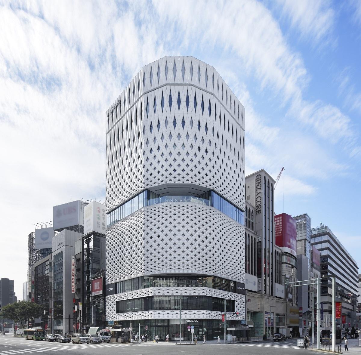 GINZA PLACE 外観  (C)Koji Fujii / Nacasa&Partners Inc.