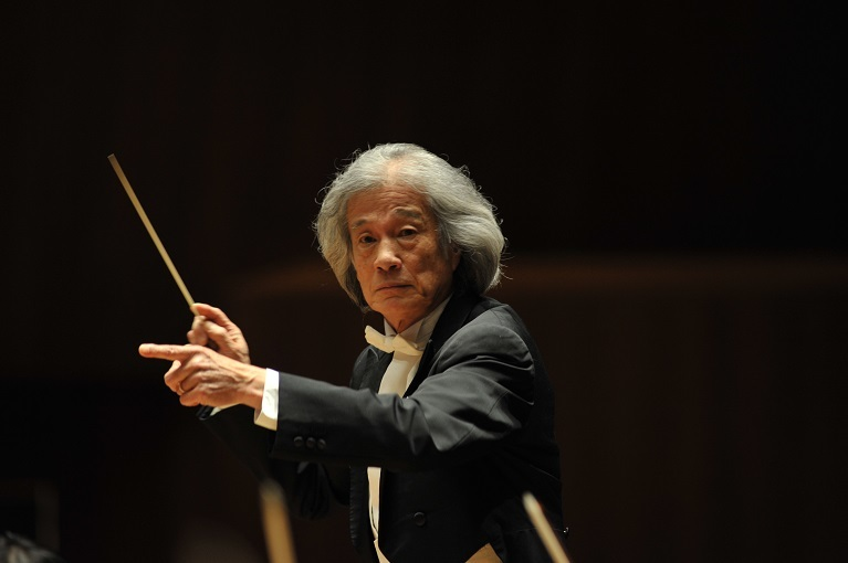 関西フィルハーモニー管弦楽団 桂冠名誉指揮者 飯守泰次郎  (C)金子 力