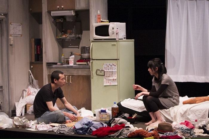 匿名劇壇『悪い癖』初演(2015年) [撮影]河西沙織(劇団壱劇屋)