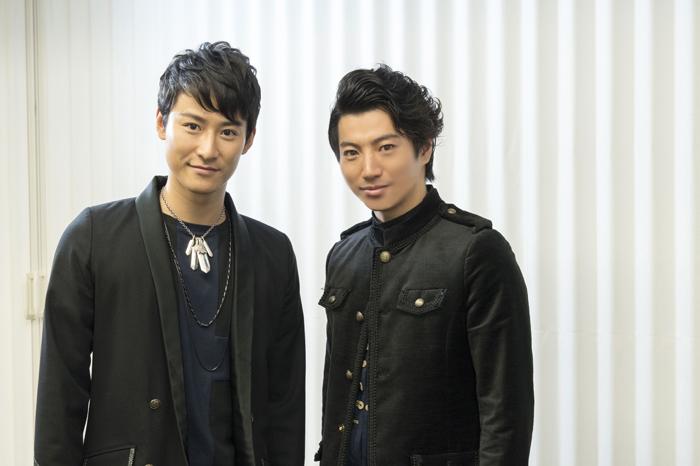(左から)馬場徹、矢崎広