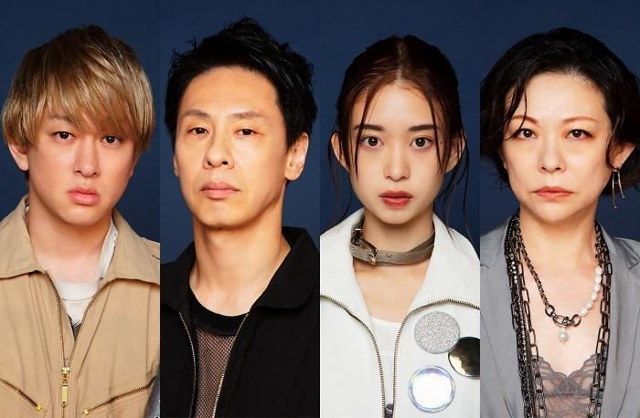 (左から)横山裕、大倉孝二、森川葵、秋山菜津子