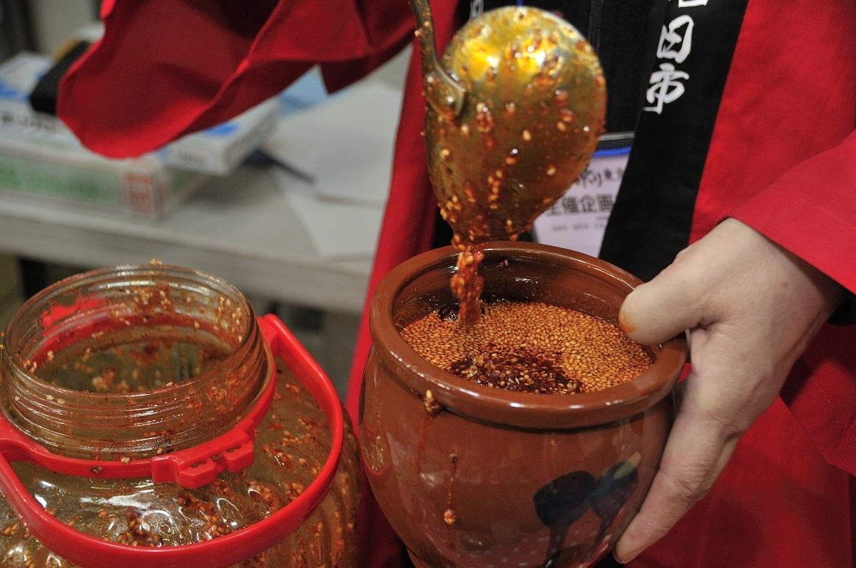 激辛の食べるラー油