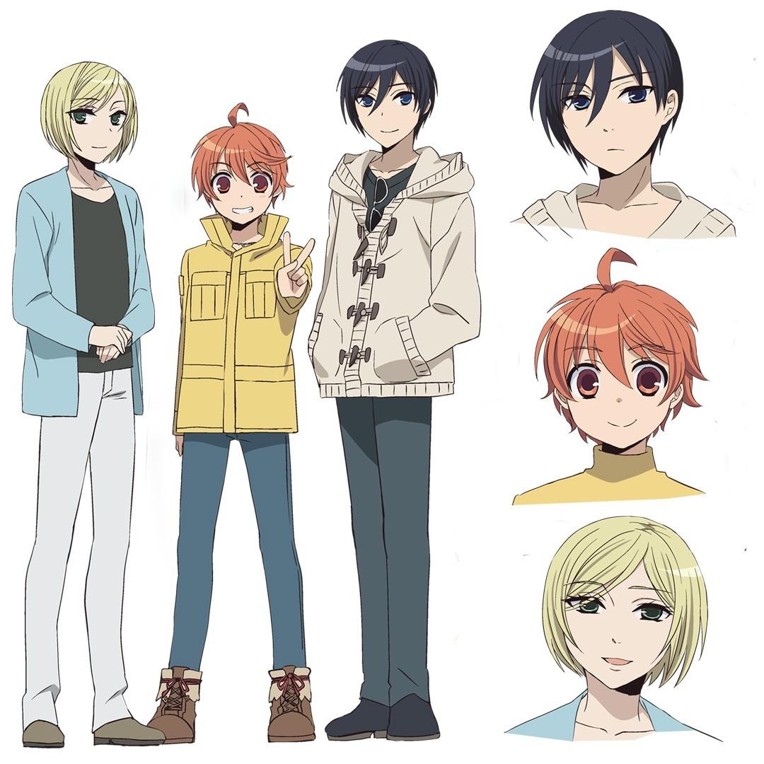 有頂天BOYS (C)乙橘・KADOKAWA刊/少年メイド製作委員会