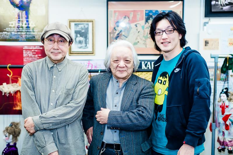 (左から)天野天街、結城一糸、丸山厚人  (撮影:塚田史香)