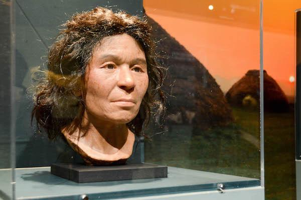 縄文人女性の復顔相