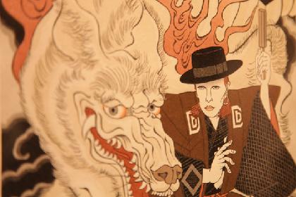 """『デヴィッド・ボウイ 浮世絵展』レポート 熟練の職人達が表現する、""""ロックンロールの心意気"""""""