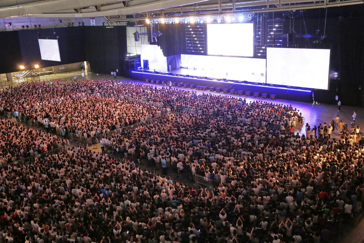 大型ステージ「Grand STAGE」では両日とも、次々とトークイベントが開催された