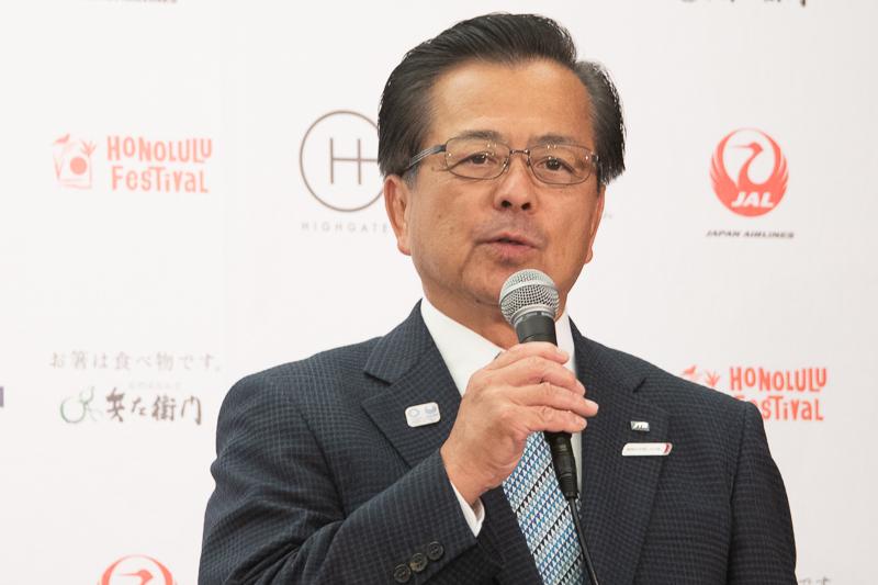 (株)JTB 常務取締役 皆見薫氏