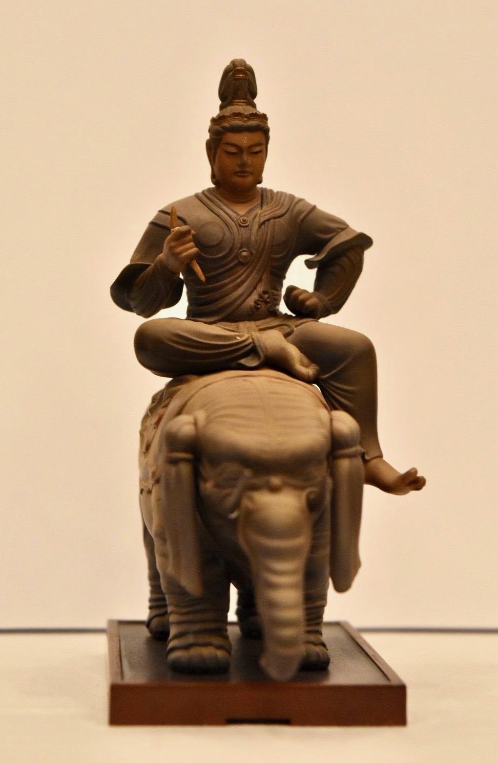 海洋堂製「帝釈天騎象像」 (C) KAIYODO