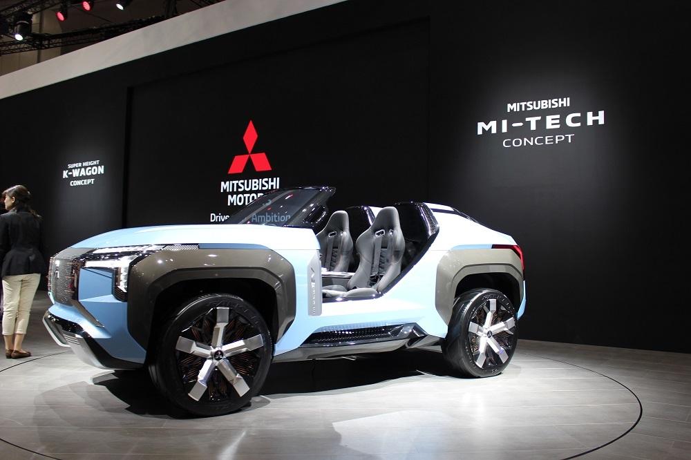 バギータイプの電動SUV「MI-TECH CONCEPT」