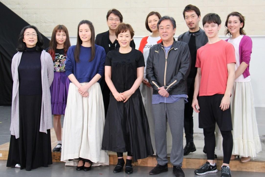 ミュージカル『リトル・ナイト・ミュージック』囲み会見