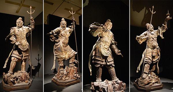 四天王立像(13世紀、奈良・興福寺所蔵、南円堂安置)